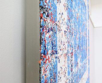 Rapture (2020) Oil on canvas 100 x 100cm